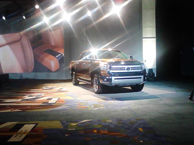 2014 Toyota Tundra 2013 Chicago Auto Show