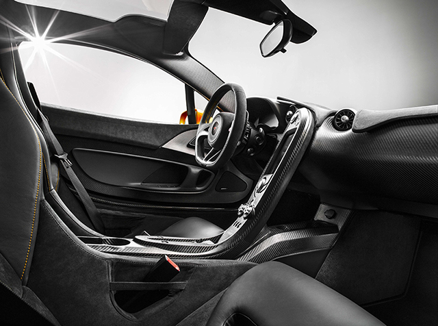 The McLaren P1 Super Car Shows off its Insides