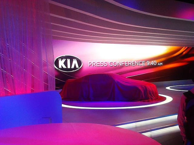 2013 Chicago Auto Show  KIA Press Stage