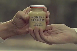Grey Poupon commercial