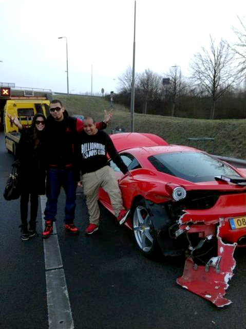 Friday FAIL: Where AfroJack gets his car Jacked Up
