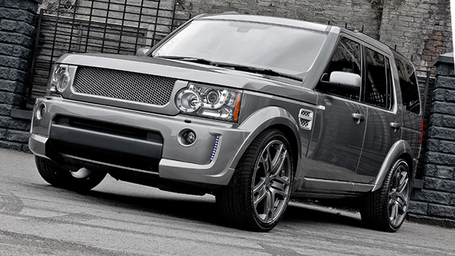 A Kahn Design Kahn Stornoway Grey Land Rover Discovery