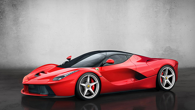 Ferrari LaFerrari Hybrid Super Car