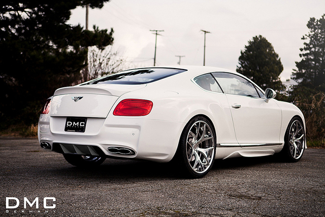 DMC Gets Aggressive with the Bentley Continental GT DURO