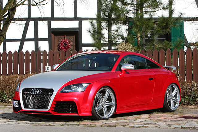 Chromium Red Audi TT-RS