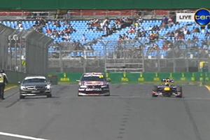 F1 vs V8 Supercar vs SL 63 AMG