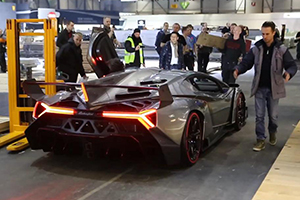 Veneno Exhaust Video