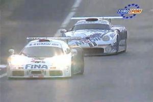 McLaren F1 GTR  vs Porsche 911 GT1