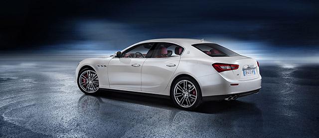 Maserati Ghibli sports sedan