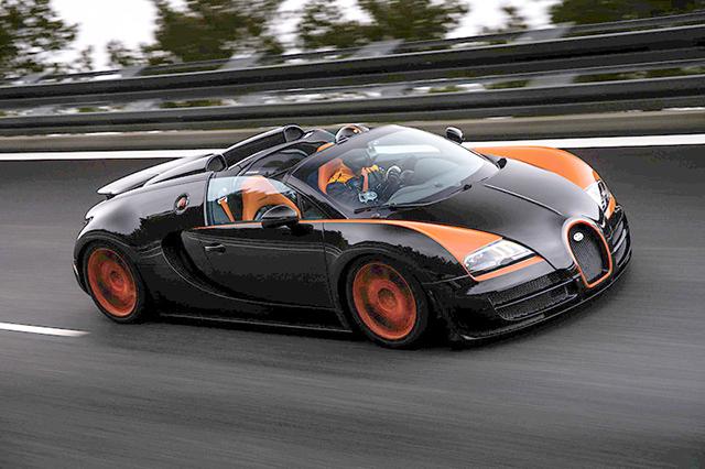 Veyron Grand Sport Vitesse World Record
