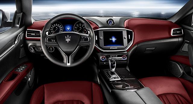 Maserati Ghibli sedan interior