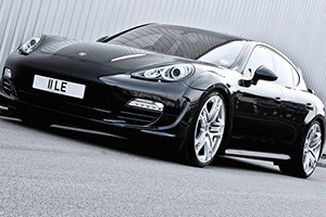 A Kahn Design Gives the Porsche Panamera a British Makeover