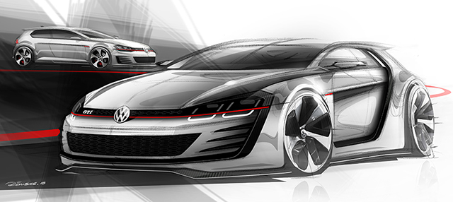 Volkswagen Vision Design GTI