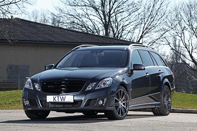 KTW Tuning and Brabus Team up for the Mercedes Benz E350 CDI T