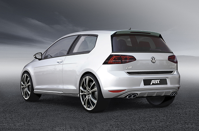 ABT Sportsline Pumps up the Power on the Volkswagen Golf VII GTD