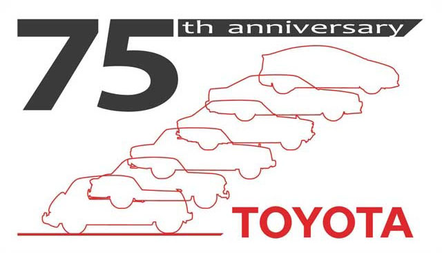 Toyota 75th