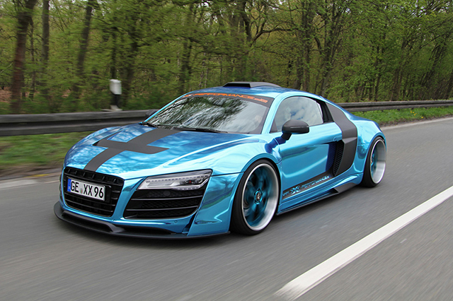 XXX Performance Gets Wide and Wicked with the Audi R8 5.2