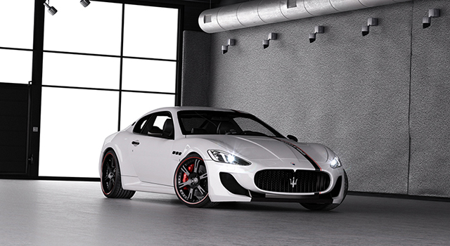 WheelsandMore Gets Evil with the Maserati GranTurismo MC Stradale