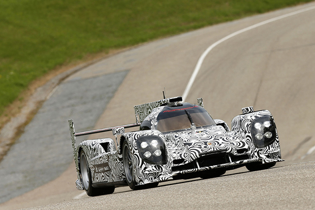 Porsche Previews their new LMP1 Sports Prototype
