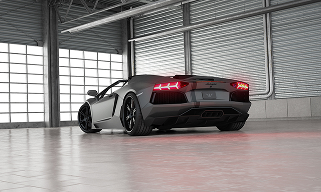 WheelsandMore Drops the Top on the Lamborghini Aventador Roadster