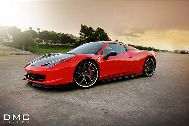 The DMC Elegante is a Ferrari 458 Spider Designed for Fun