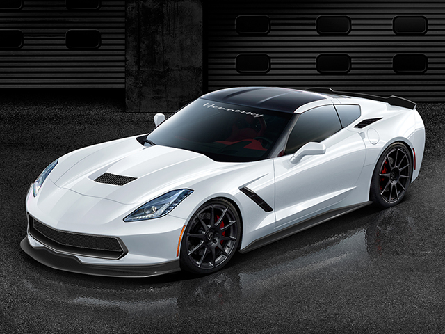 The HPE1000 is a Pumped Up, Turbocharged C7 Corvette Stingray
