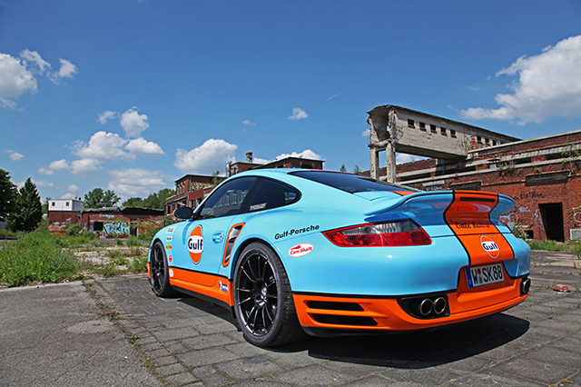 Cam Shaft Creates the Gulf Racing Porsche 911 Turbo