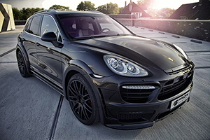 Porsche Cayenne with the PD600 Widebody