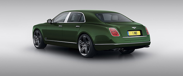 Bentley Set to Debut the Mulsanne Le Mans Edition at Pebble Beach
