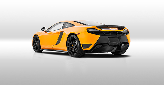 Vorsteiner's Carbon Fiber McLaren MP4 VX is all about Aerodynamics