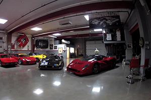 Opening a Ferrari P4/5C Competizione