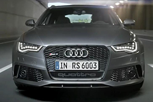 Audi RS 6 Commercial