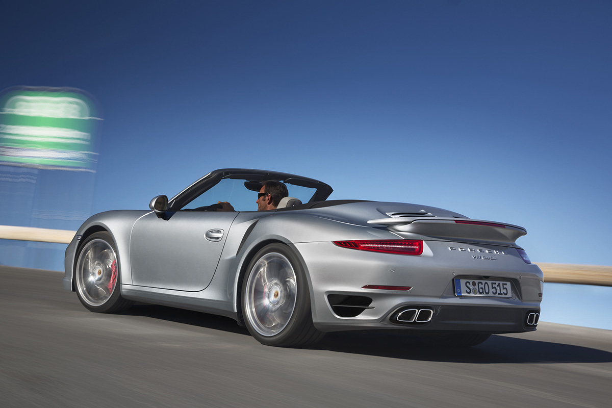 Porsche 911 Turbo and Turbo S Cabriolet