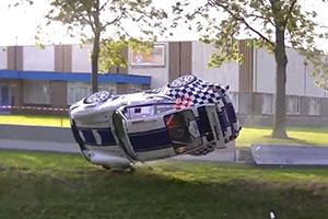 Porsche 964 Crash