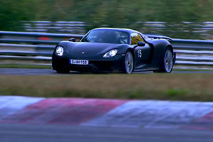 Porsche 918 Spyder Michelin