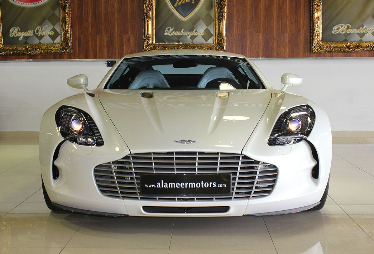 Hey, Look! An Aston Martin One 77 is up for Sale!
