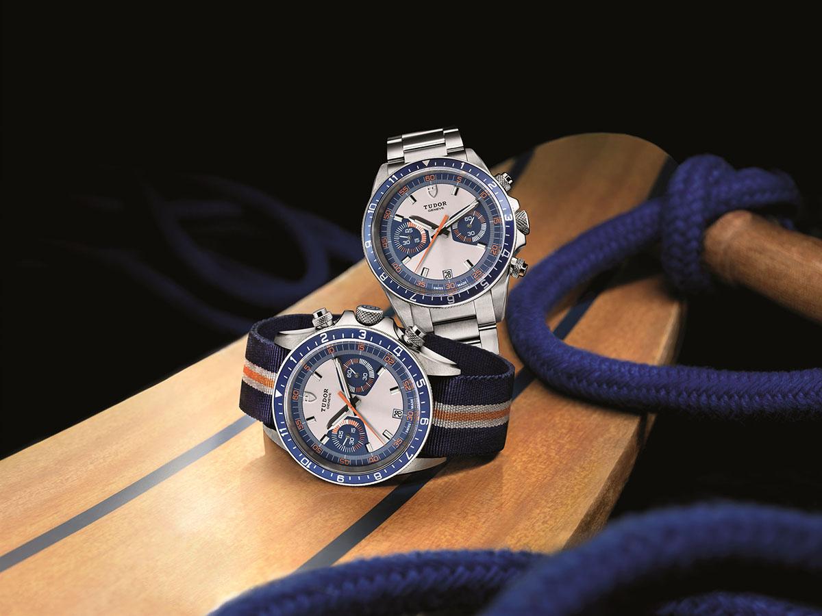 Tudor Heritage Chrono Blue reference 70330B