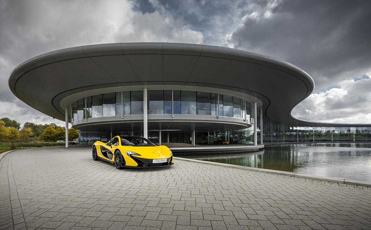 McLaren P1 Official Specs
