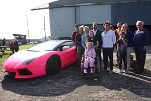 Richard Hammond Pink Lamborghini Charity