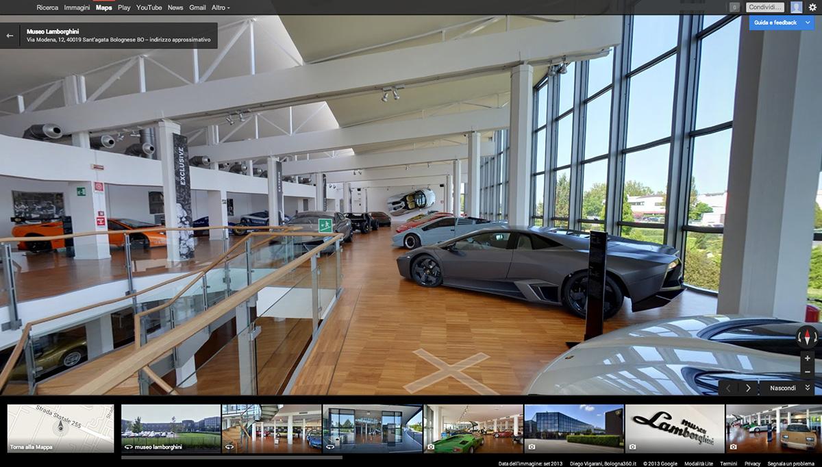 Lamborghini Museum Google Street View