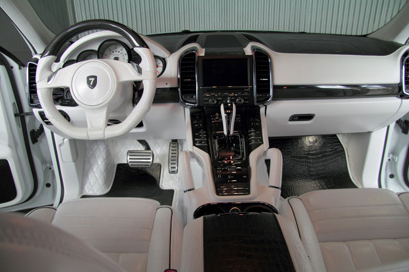 Anderson Germany Dream White Edition Porsche Cayenne Turbo