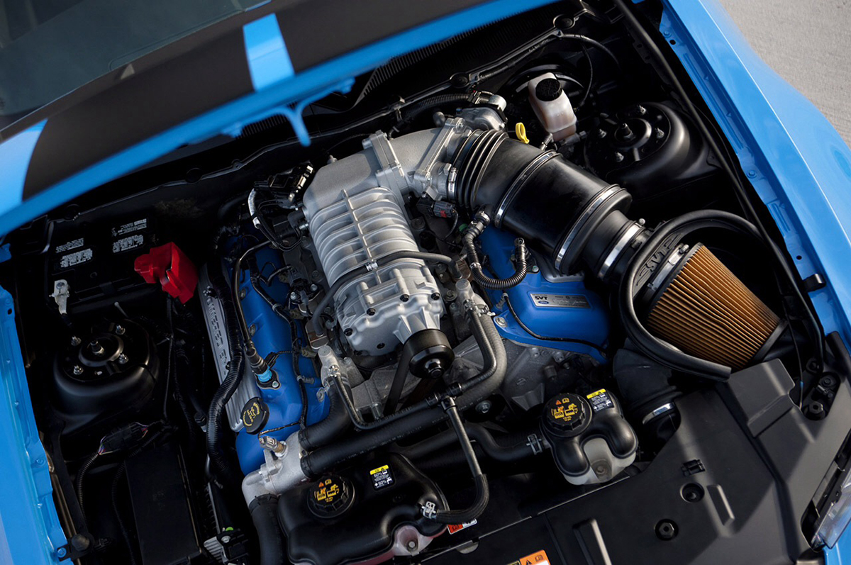 Ford/Shelby Supercharged V-8