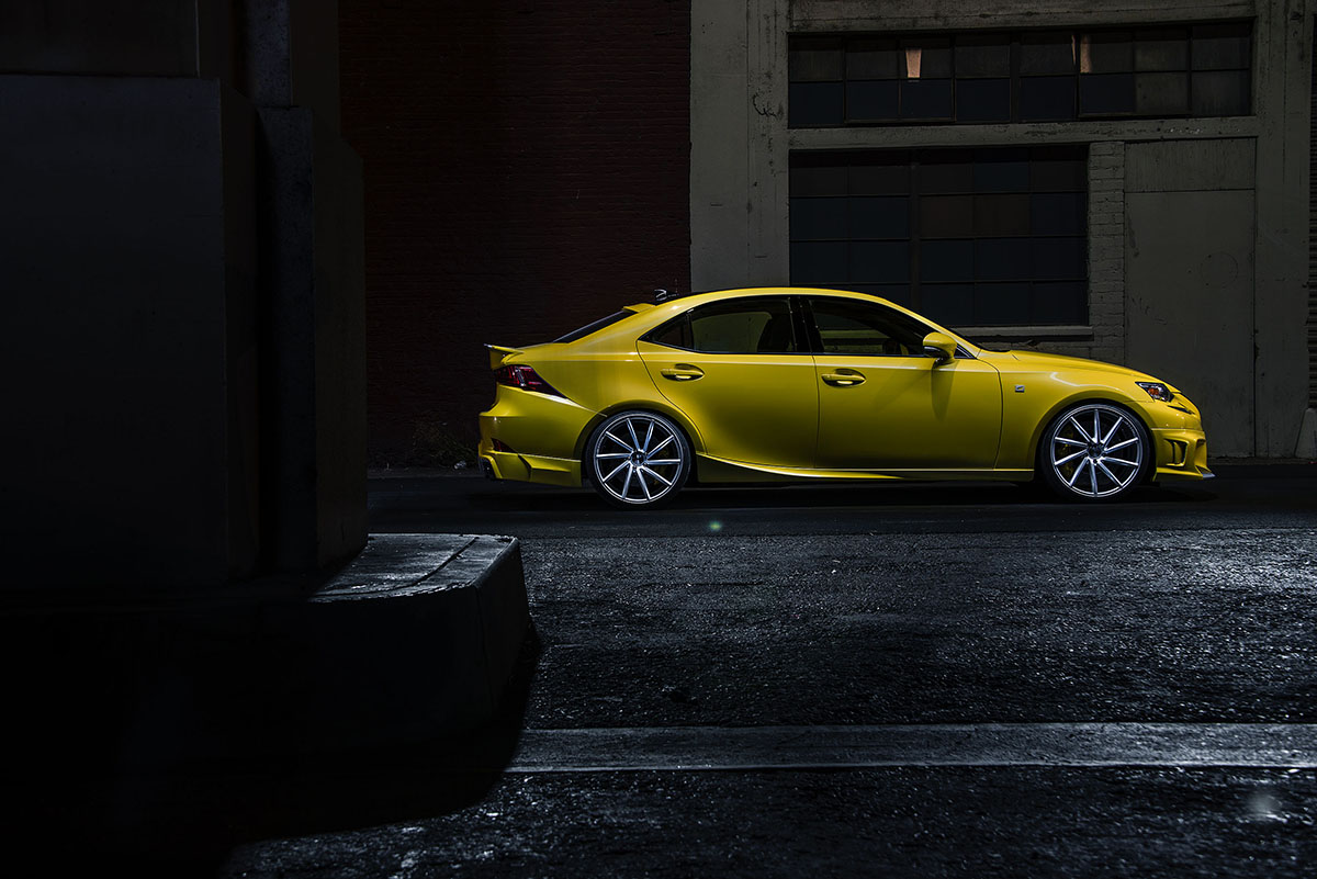 2014 IS 350 F SPORT by Vossen Wheels