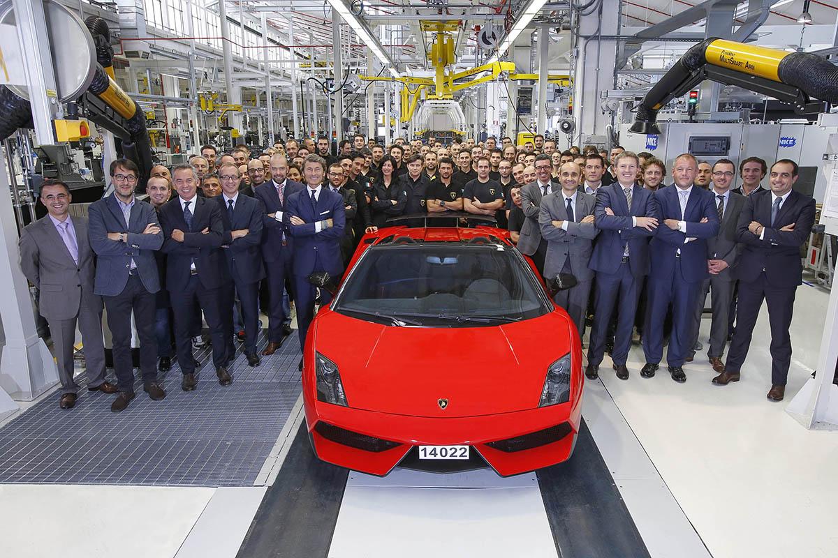 Last Lamborghini Gallardo