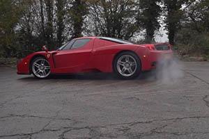 Ferrari Enzo Burnout