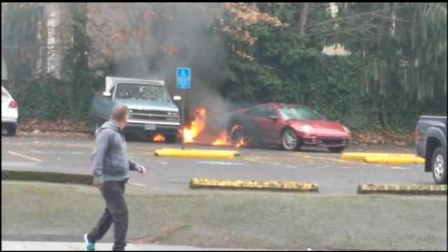 Friday FAIL Man sets himself on fire