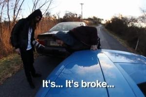 Bam Margera Lamborghini crash