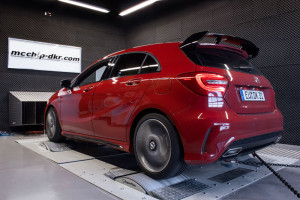 McChip DKR Pumps up the Mercedes Benz A45 AMG