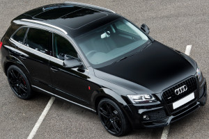Brilliant Black Audi Q5 Wide Track by A Kahn Design