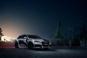 Jon Olsson 2014 Winter Mobile Audi RS 6 Avant